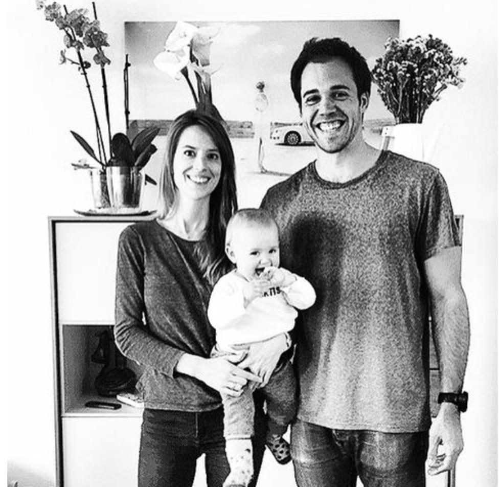 Andrea,Iñigo & baby Gabriela