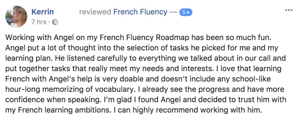 testimonial angel pretot roadmap to fluency Kerrin.png