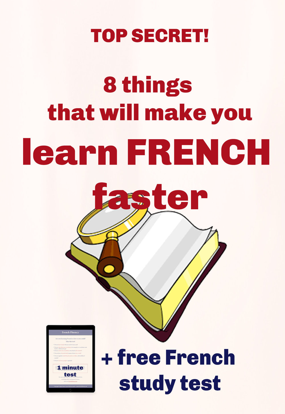 How to learn French faster