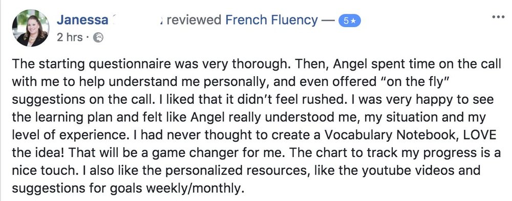 Learn French Angel Pretot Roadmap to fluency testimonial - Janessa.jpg