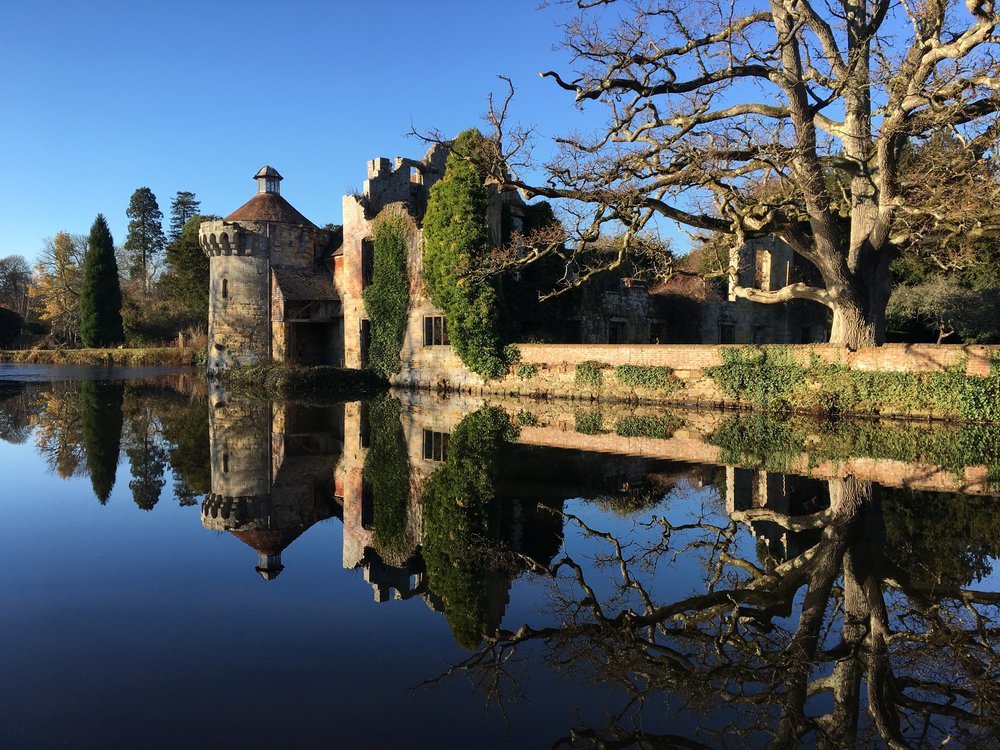 Click on the image to go to the Scotney Castle website