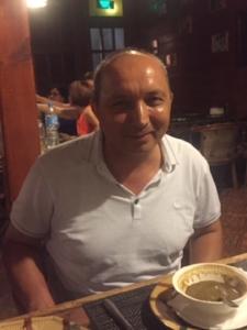 Erkin Musaev, Tashkent, September 2017 Picture: Hugh Williamson