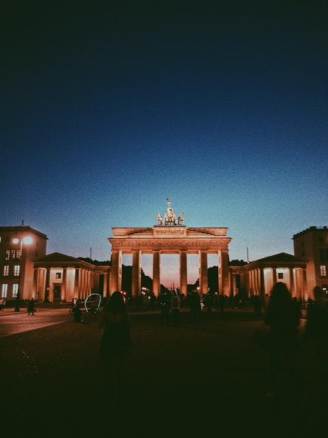 Berlin's most famous landmark, 2017. Picture: Helen Williamson