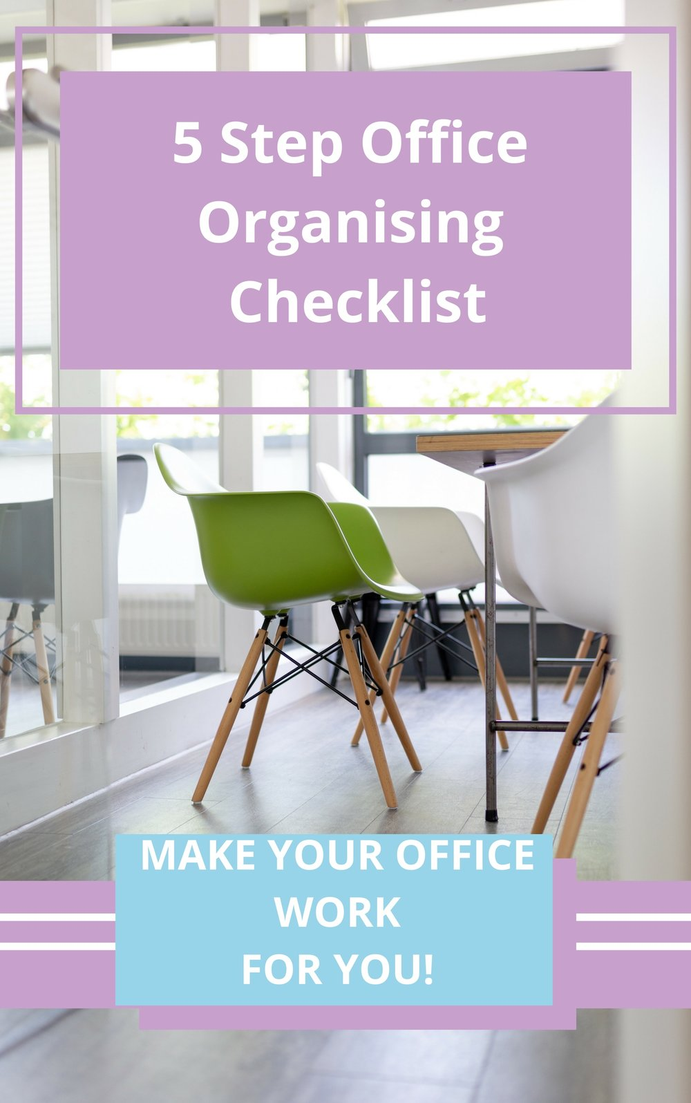 5 Step Office Organising Checklist - Office Organising starts here …..- ensure you put profits first by being organised- 5 steps to a more productive office- follow these steps and you see resultsDownload your free checklist with my compliments