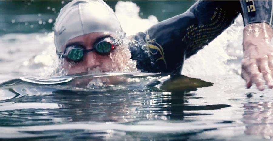 Swim, Bike, Run: Raelert ist bekannt für seine Schwimmstärke