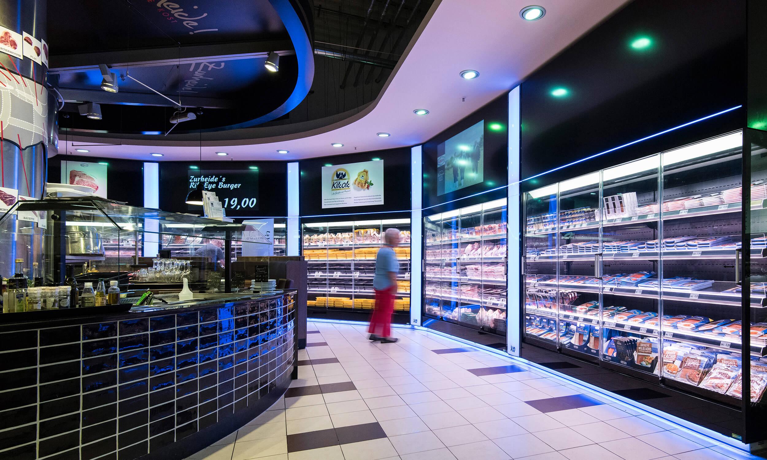 Zurheide Center Düsseldorf Nürnberger Straße — Zurheide Feine Kost