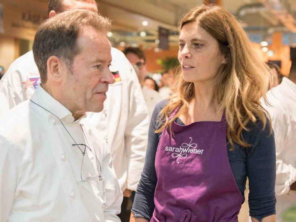 Ikone der Haute Cuisine – 3-Sterne-Koch Dieter Müller (mit Sarah Wiener) legt die Messlatte hoch.