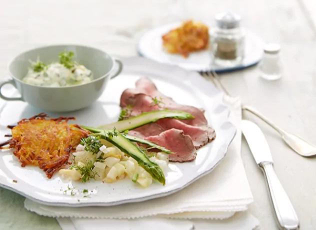 Roastbeef mit Spargel-Tatar - Unser Zubereitungs-Tipp