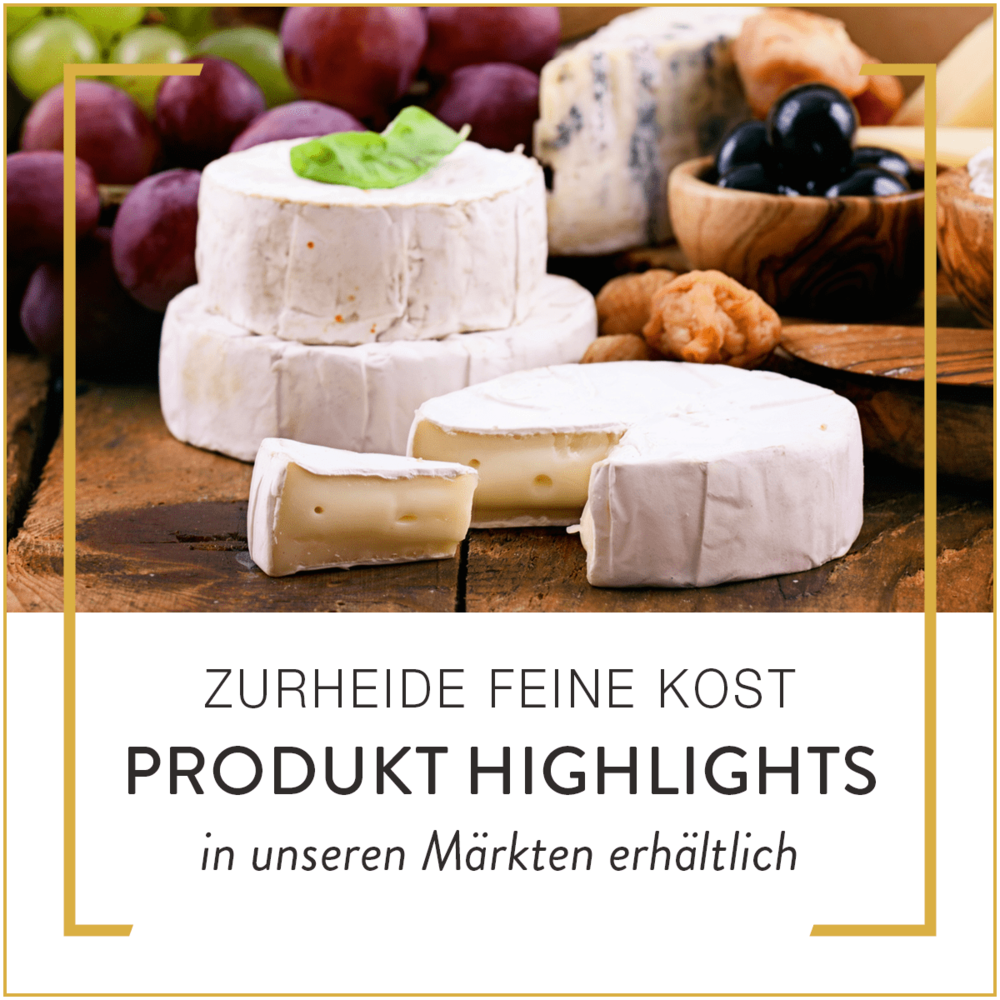 Zurheide Feine Kost Produkt Highlights