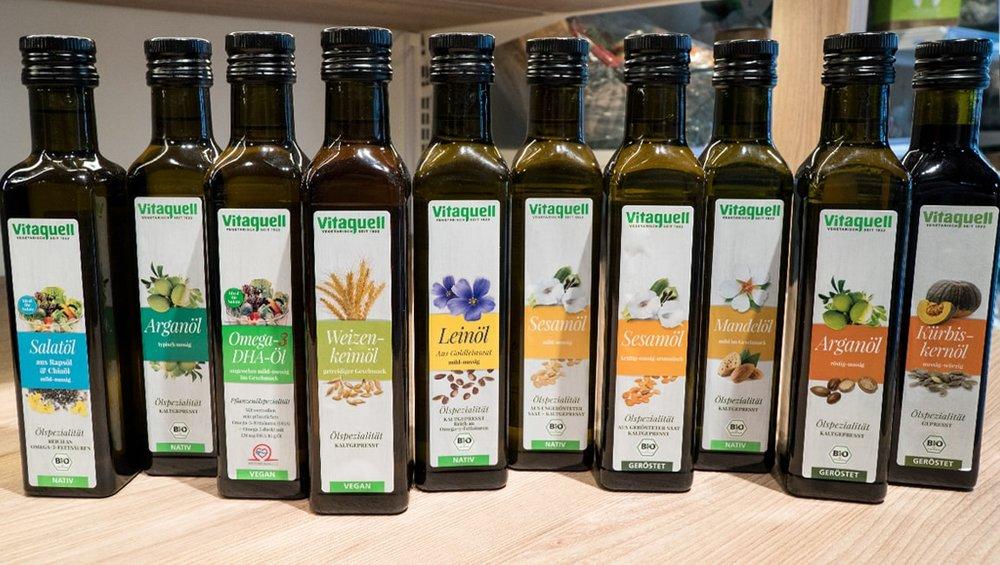 VitaquellPflanzenöle - Diese Öle verändern die Welt