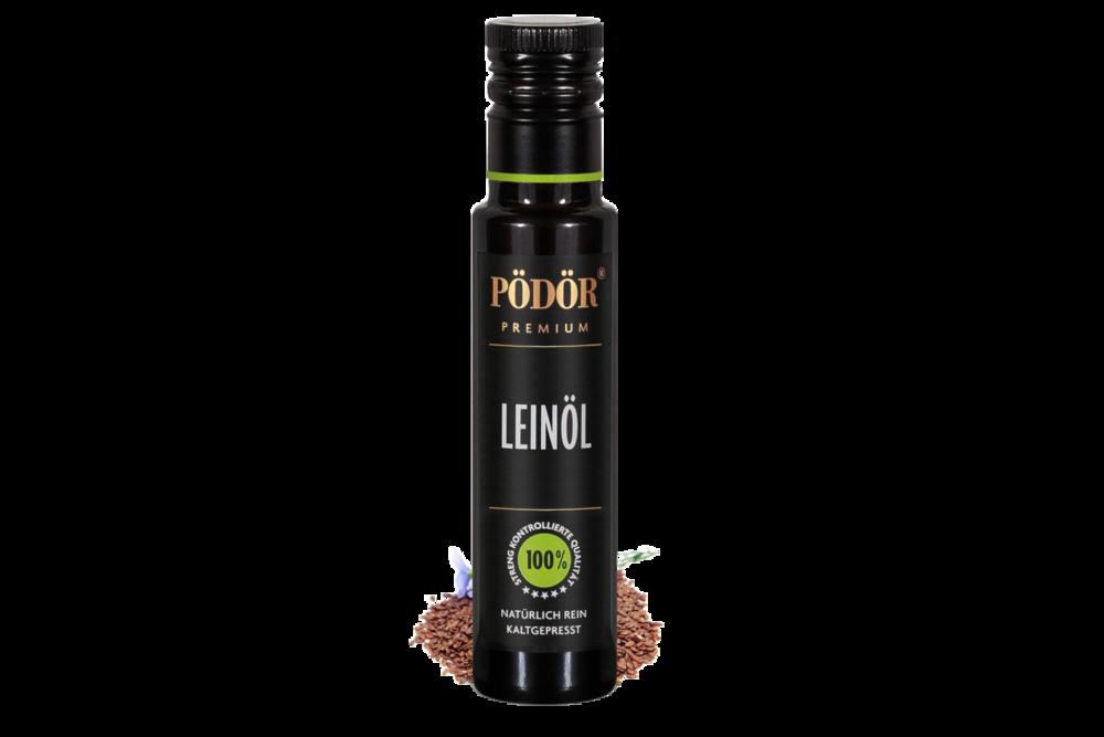 Kaltgepresstes Leinöl - Der Star unter allen Pflanzenölen
