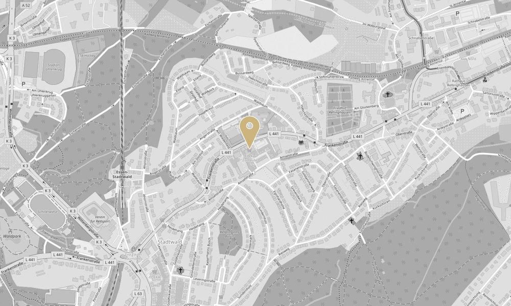 Mit einem Klick auf das Bild verlassen Sie die Website von Zurheide Feine Kost und gelangen zum externen Routenplaner von Google Maps, maps.google.de. Wir geben keine personenbezogenen Daten weiter, jedoch können auf der Zielseite entsprechend Daten von Google verarbeitet werden.| (Kartendaten von  OpenStreetMap - Veröffentlicht unter  ODbL )