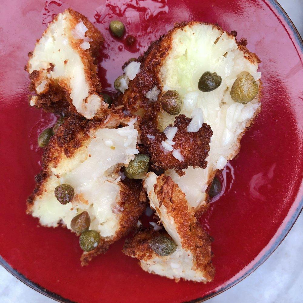 Cafe Roval Miami - Fried Cauliflower