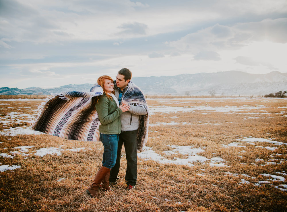 Miss. Miller's Photography | Colorado Mountain Engagement | Unposed