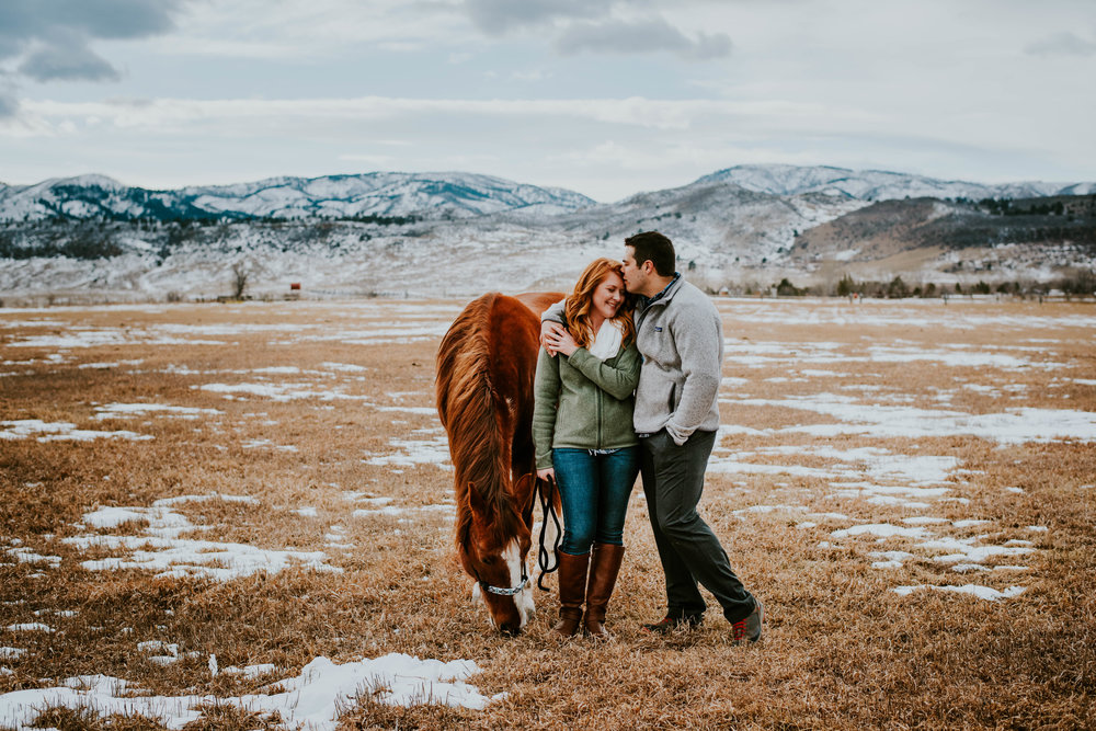 Miss. Miller's Photography | Country Engagement Photos