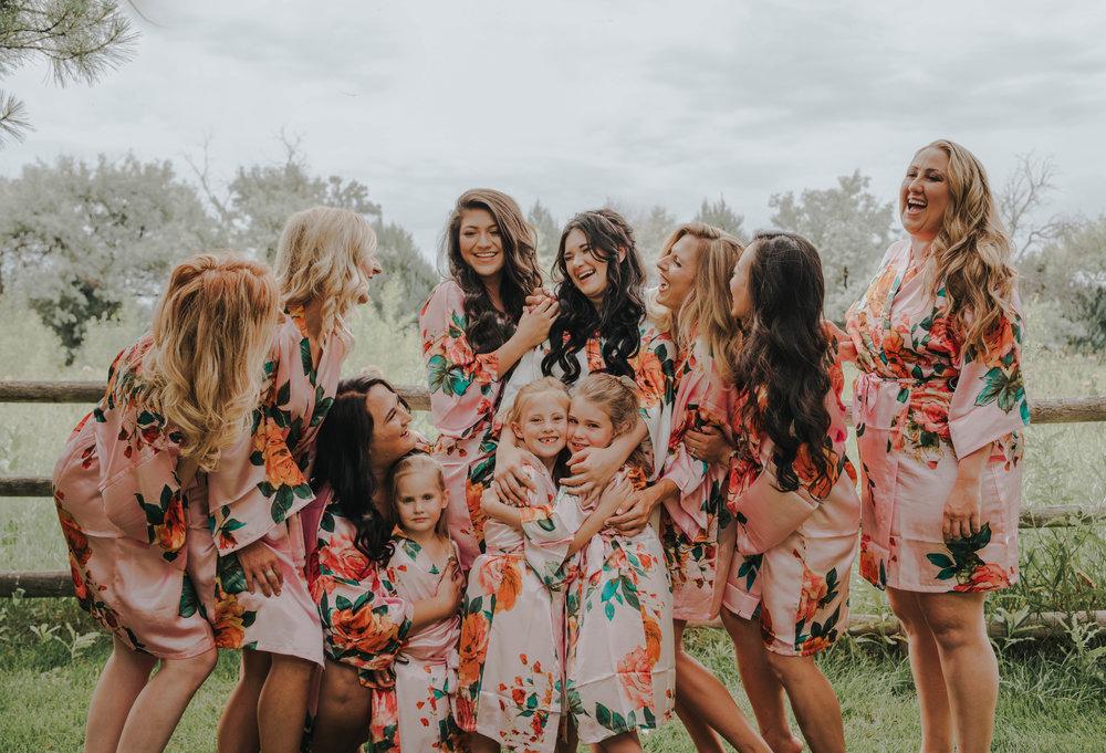 Miss. Miller's Photography | Colorado Wedding Photographer | Bridesmaids Robes Photos