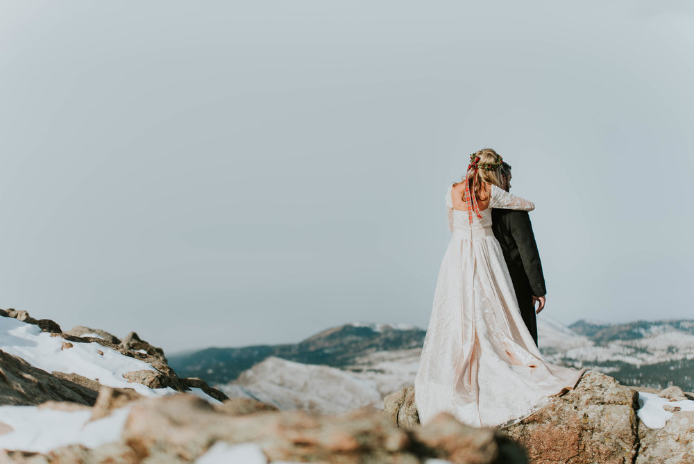 Alicia and Patrick came all the way from Alabama for their elopement, so of course we used the beautiful Rocky Mountains of Colorado!