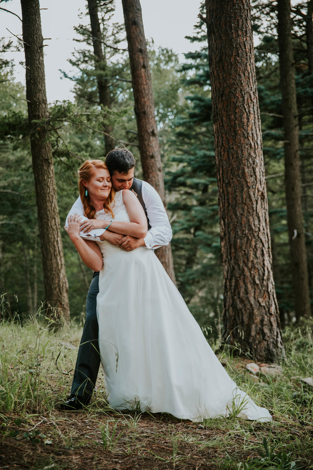 This summer we had the honor of photographing Leigh and Don's wedding in the Santa Fe National Forest in New Mexico!