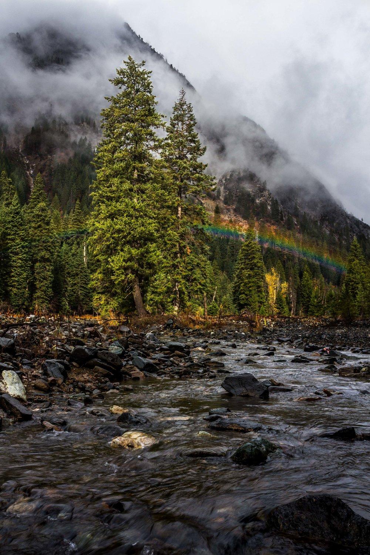 Eagle Creek Rainbow  Wallowa Mountains, Oregon