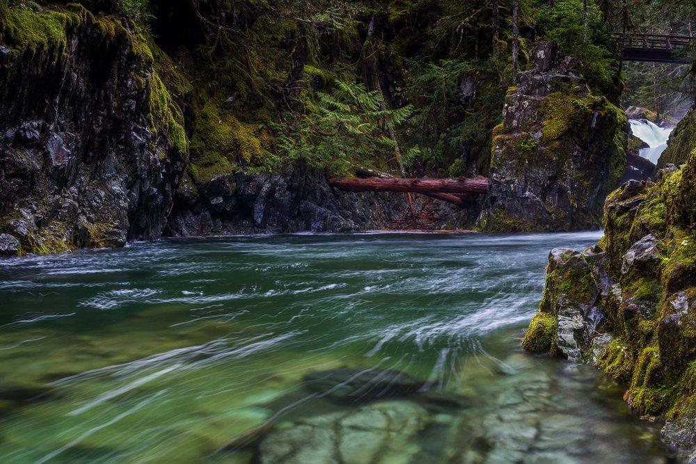 Santiam River, Oregon