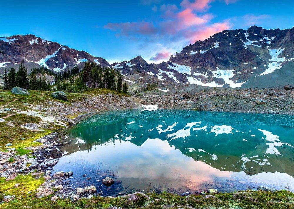 Royal Tarn  Olympic National Park, Washington