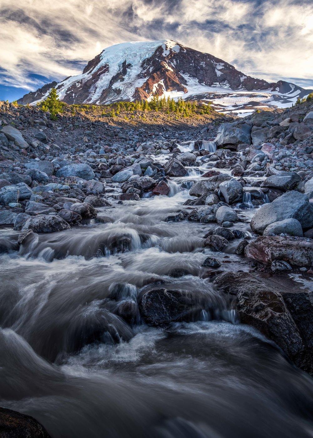 The Big Muddy  Mount Adams, Washington