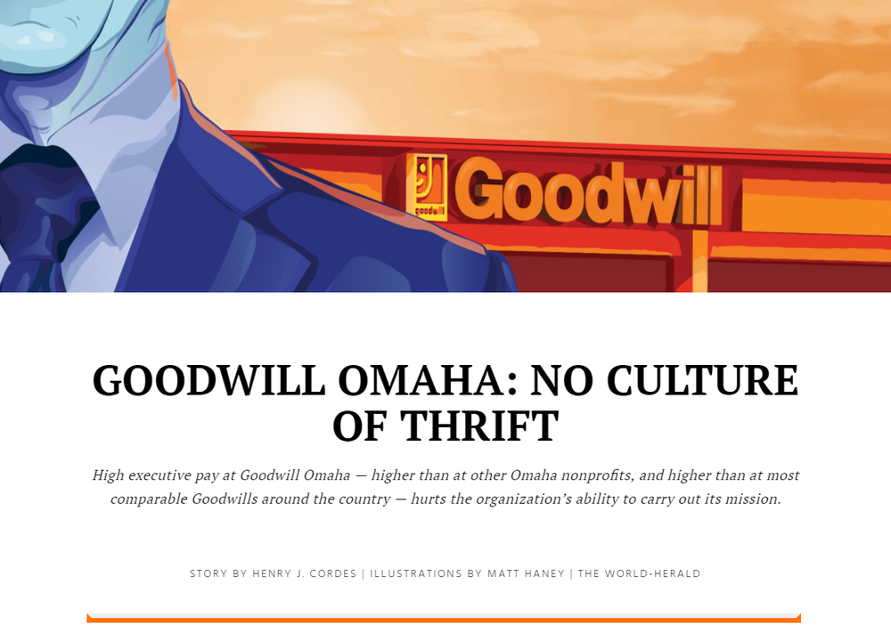 Goodwill Omaha: No culture of thrift