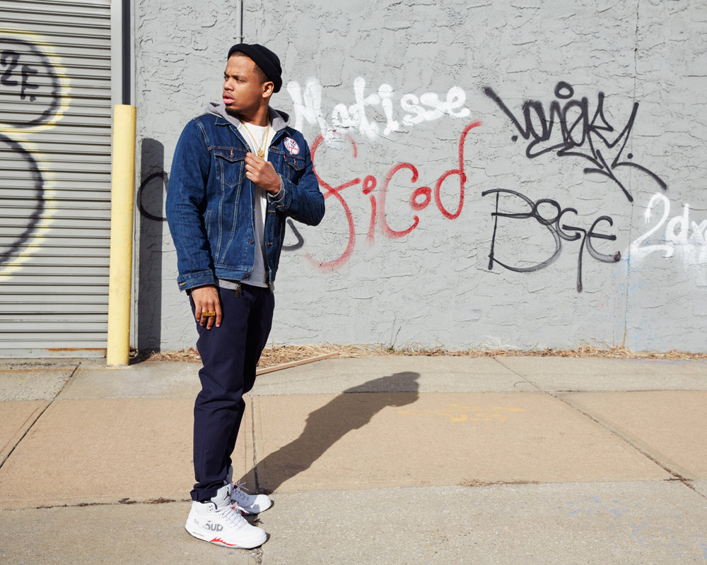 Mack Wilds//Levi's
