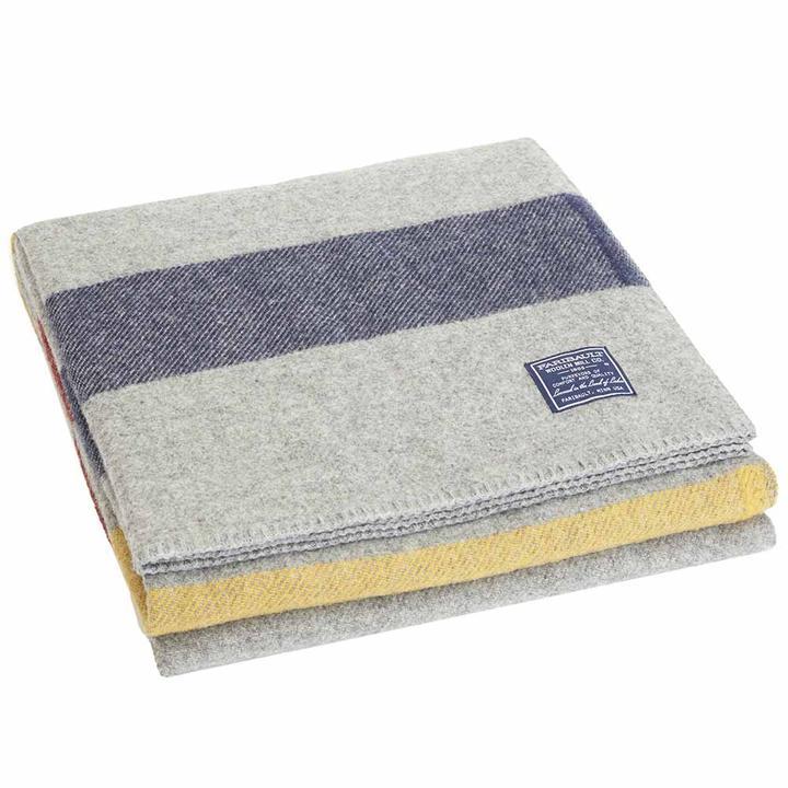 Fairbault Mills Wool Throw Blanket $160+