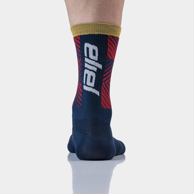 Oasis Socks - Navy : Red.jpg