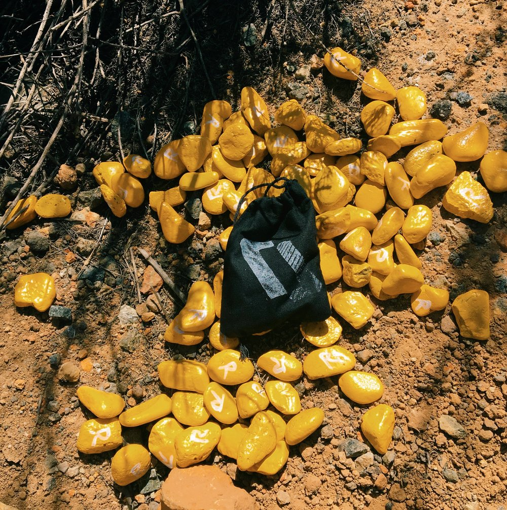 hunt of the north_yellow gravel