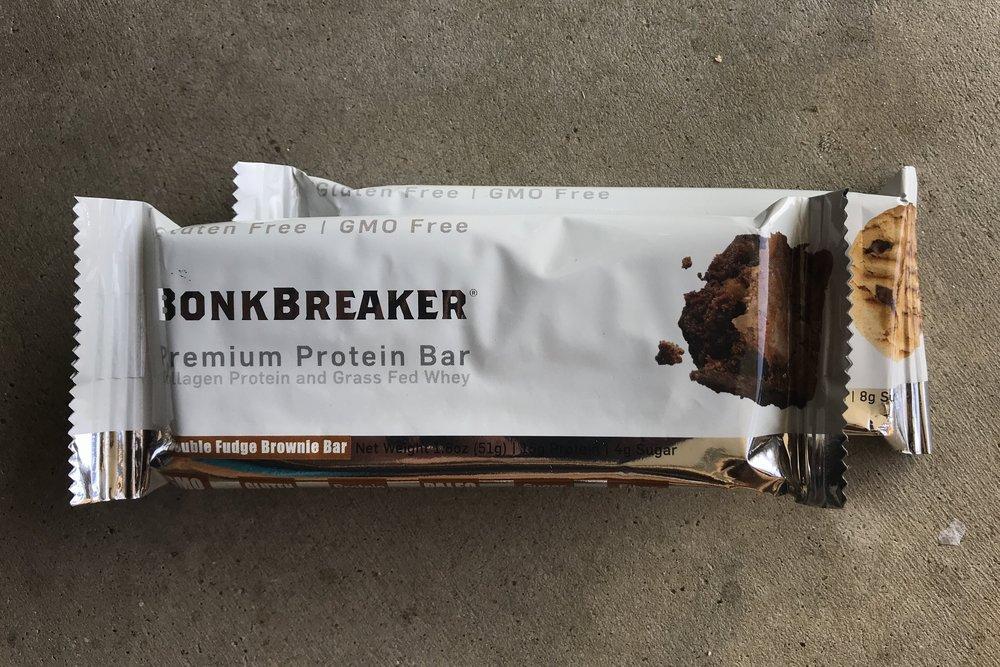 Bonk Breaker's All New Premium Protein Bars