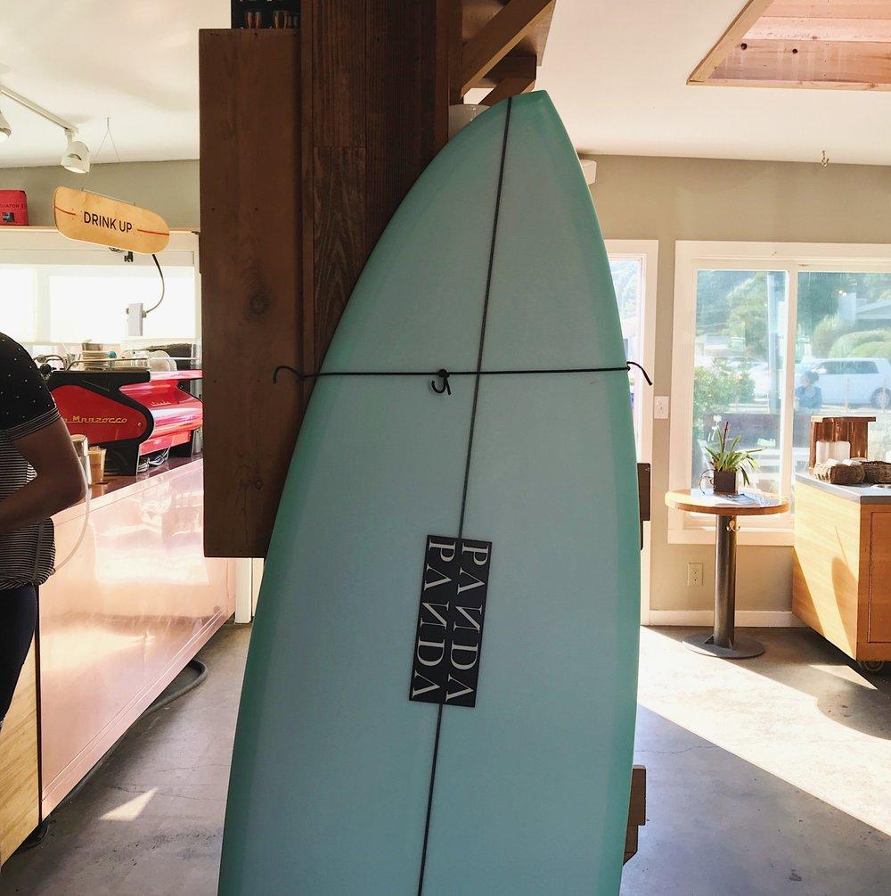 Panda Surfboard