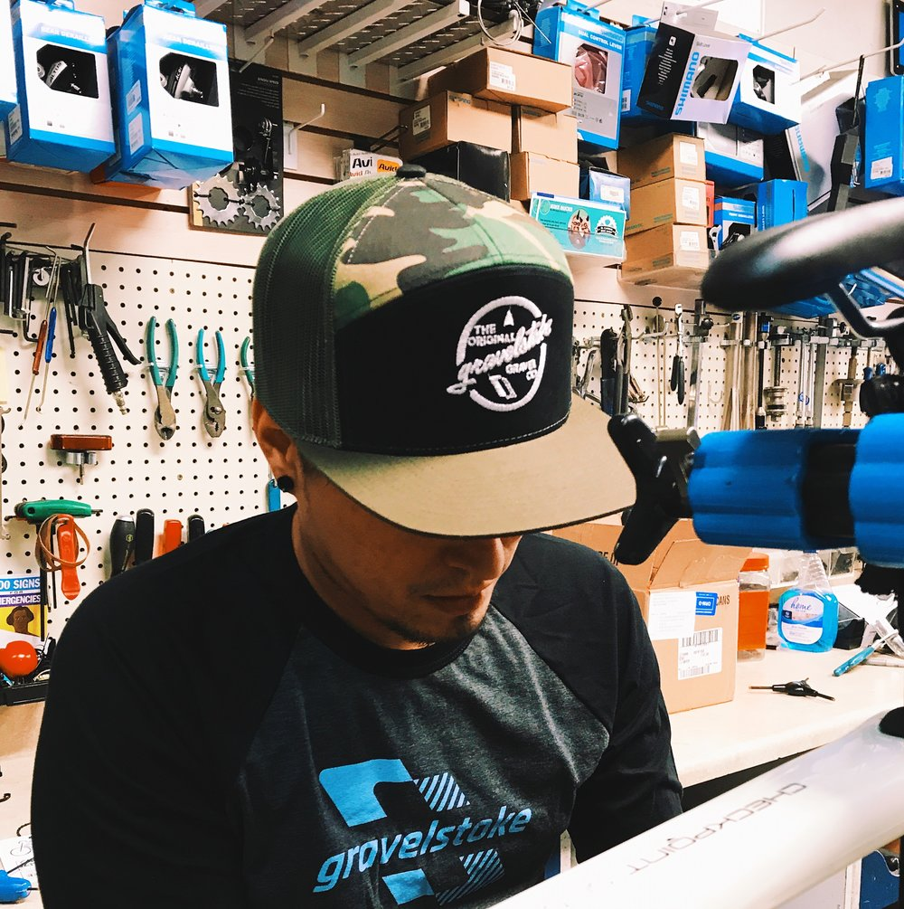 Black / Green Camo 7 Panal Richardson Trucker Hat