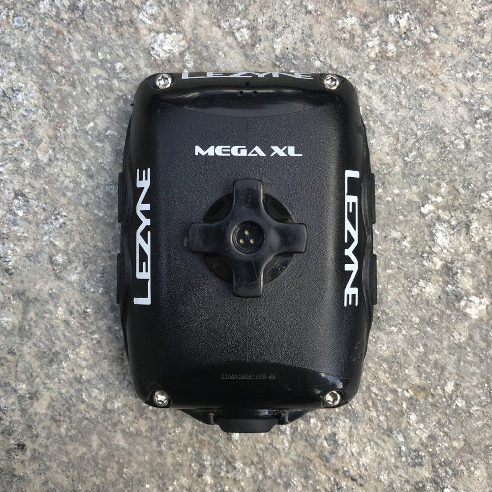 Lezyne Mega XL GPS back