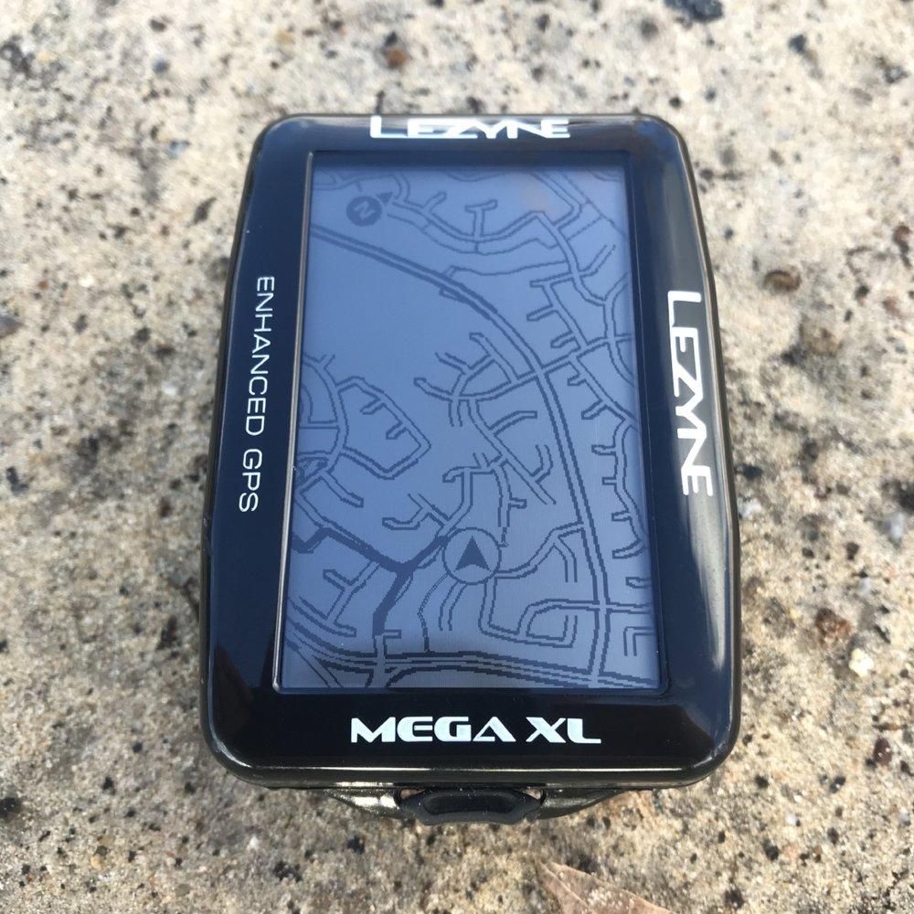 Lezyne Mega XL GPS map download
