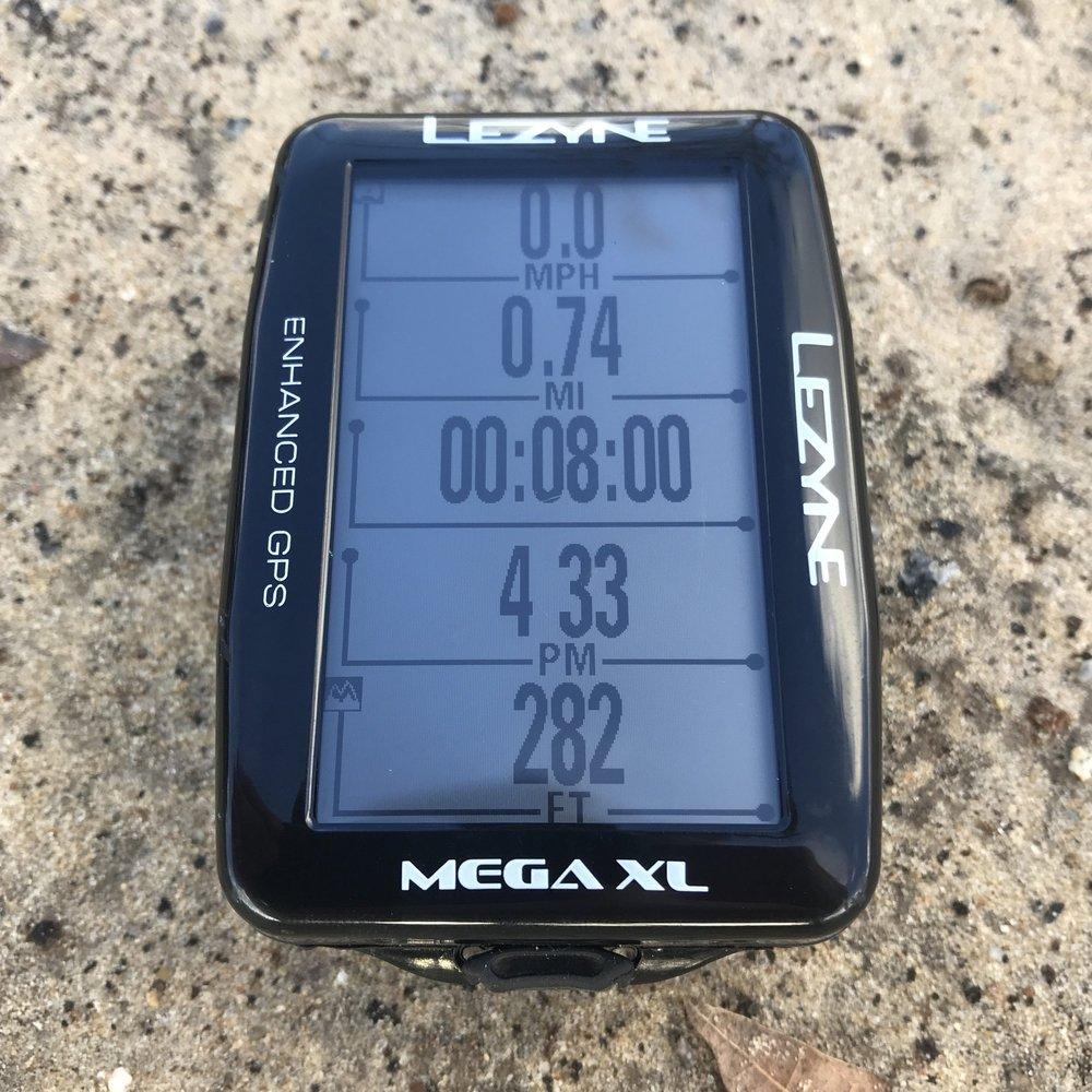 Lezyne Mega XL GPS for gravel