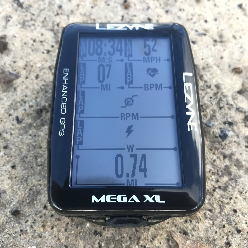Lezyne Mega XL GPS power