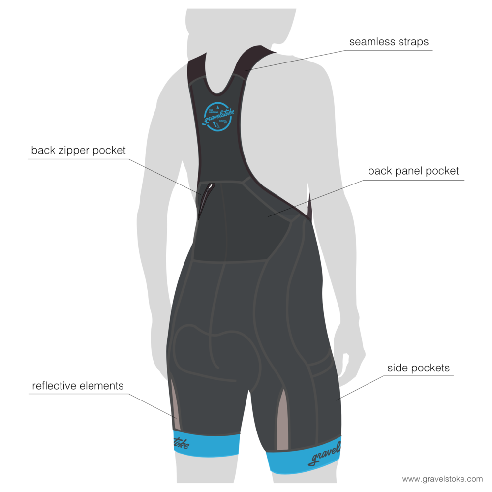 Women's Team Cargo Bib Shorts