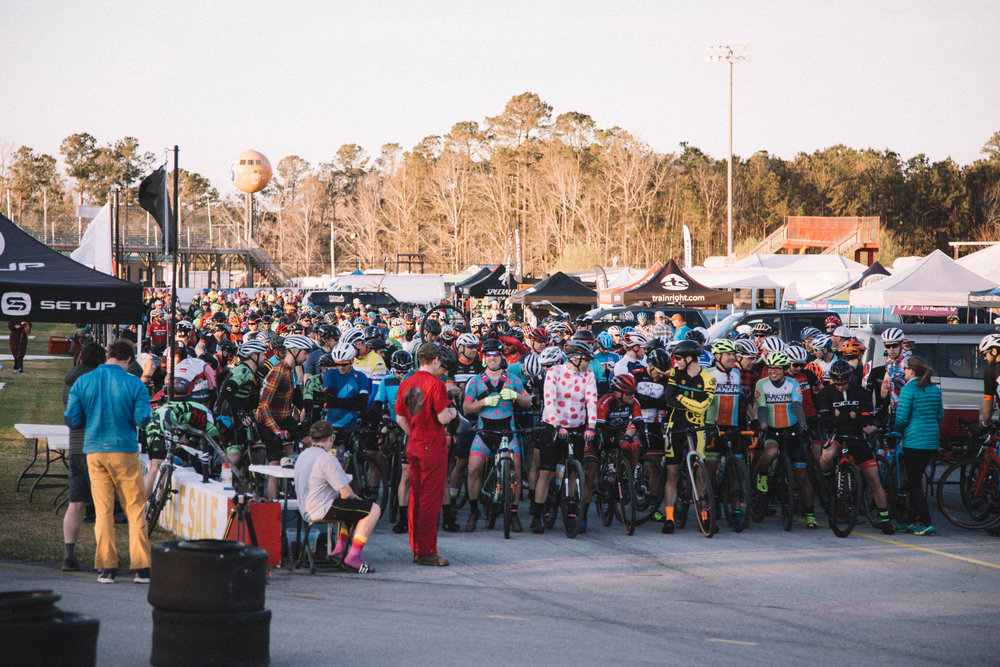 Over 550 riders attended the event. PC: Stephen Fitzgerald