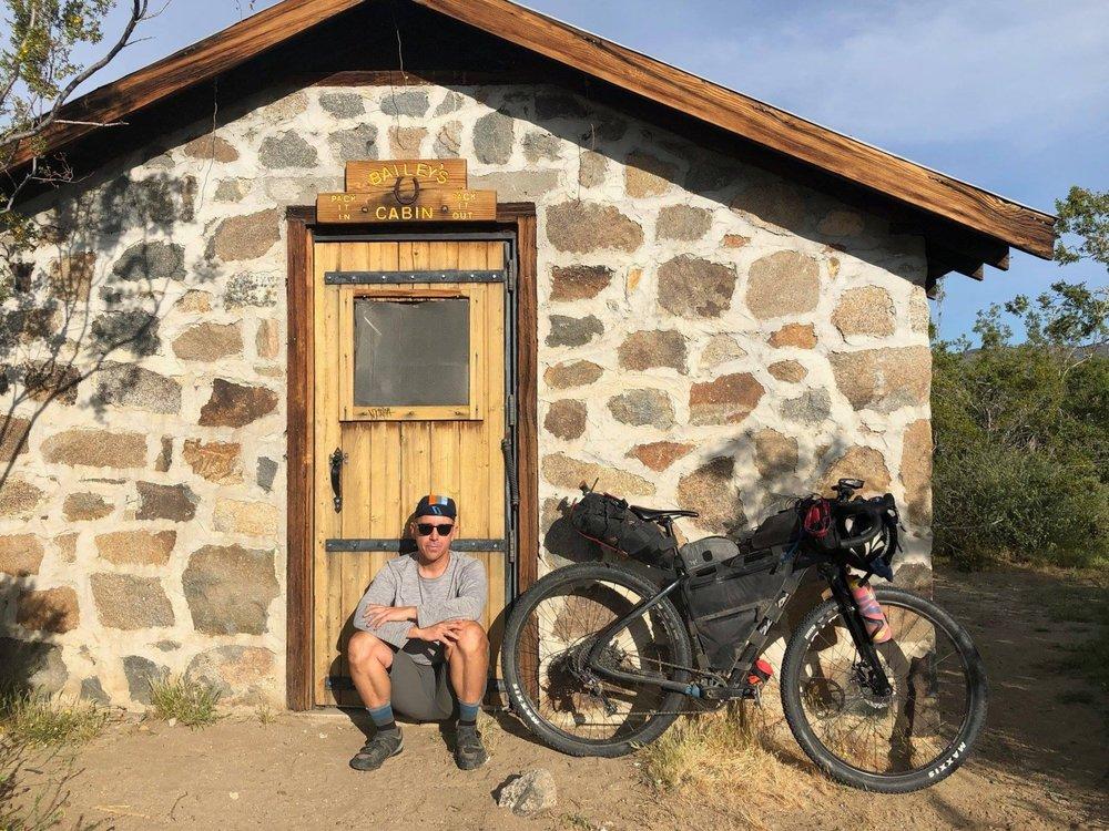 Matteo at Bailey's Cabin