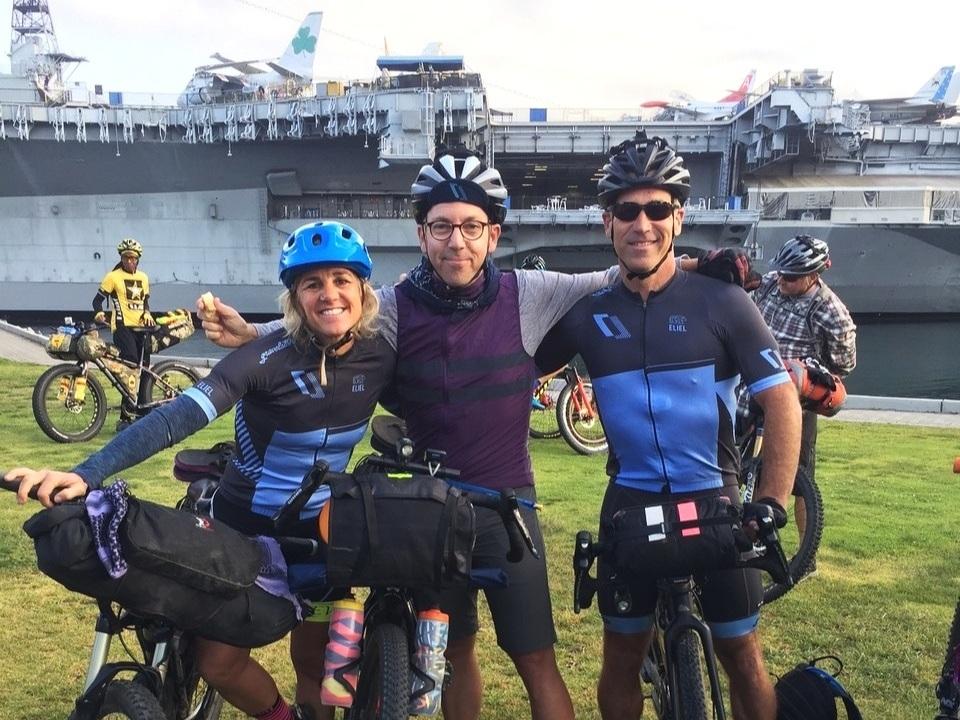 Shelly, Matteo, and Bart of Gravelstoke Development Team