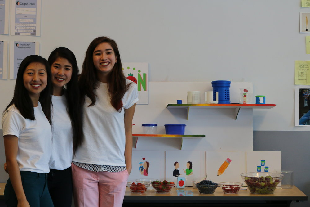 Shannon Cassady, Vicki Chen, and Rebecca Jiang, Frusion