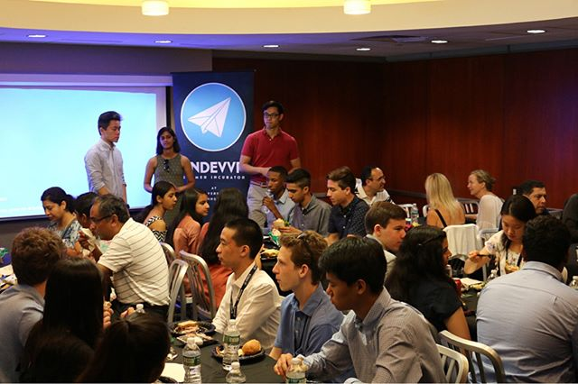 Scenes from yesterday's Kick-Off Lunch! After finally seeing the class of 2018 in action we can not wait to see what else is in store!  #endevvr2018 #kickoff #entrepreneurlife #entrepreneurmindset #upenn #summerincubatorprogram