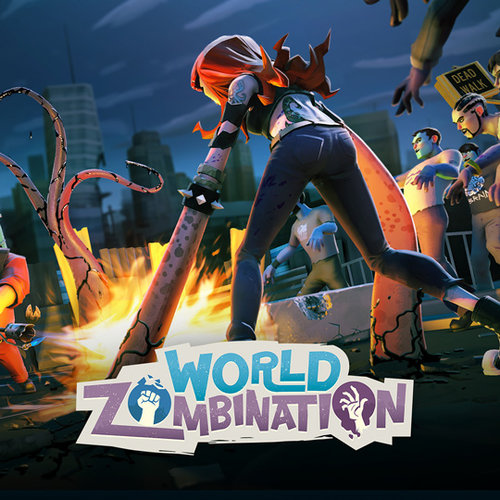 - World Zombination is an MMO in which players can take control of a massive zombie horde and destroy the world or help the last surviving humans make their stand and defend it.