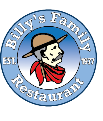 Billy's Family Restaurant. Since 1977.