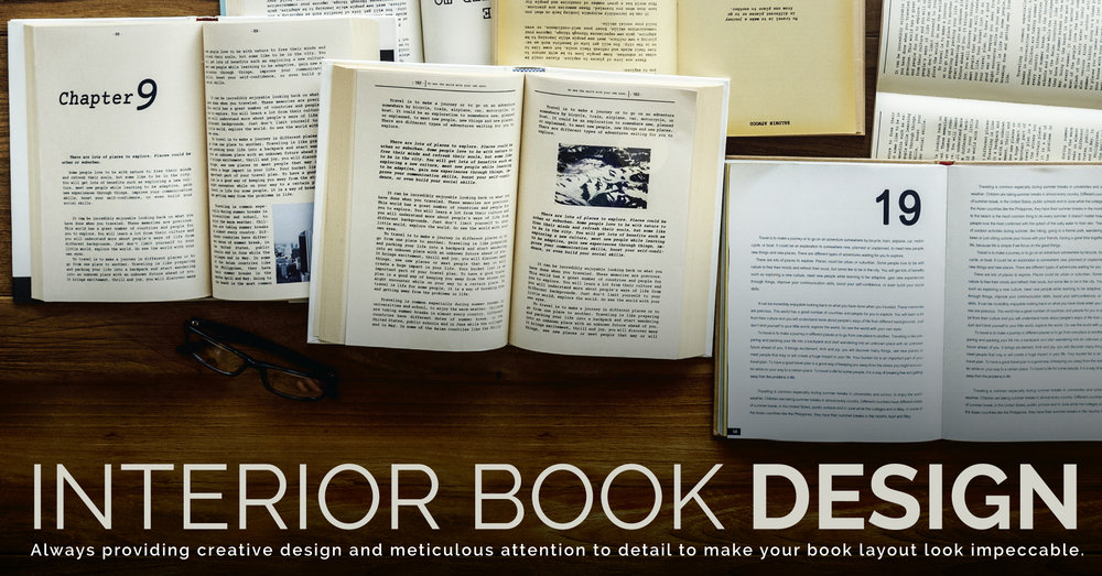 Find out more about our interior book design services