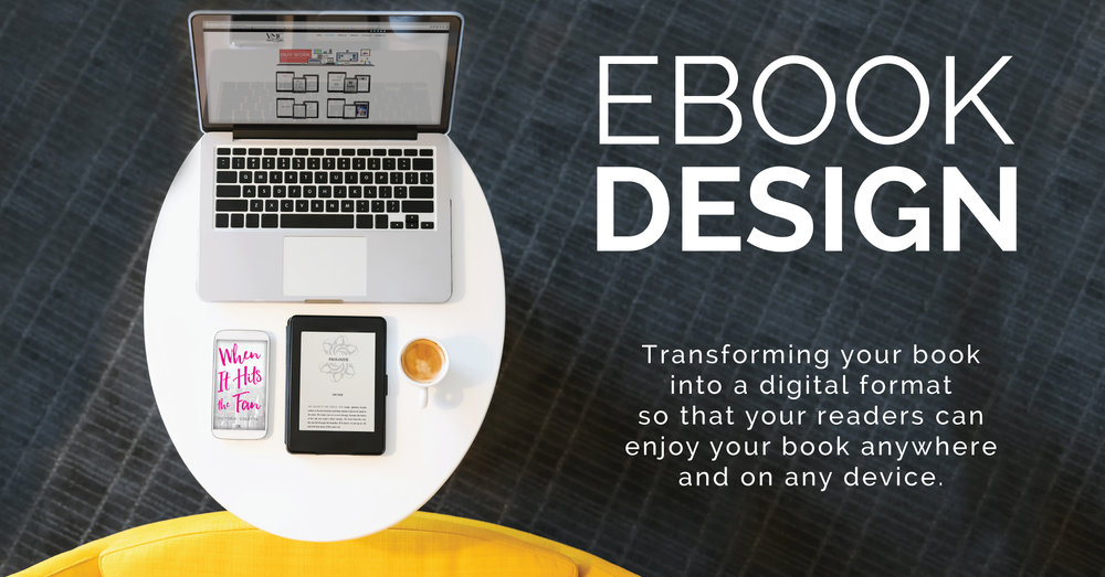 Find out more about our ebook design & production services