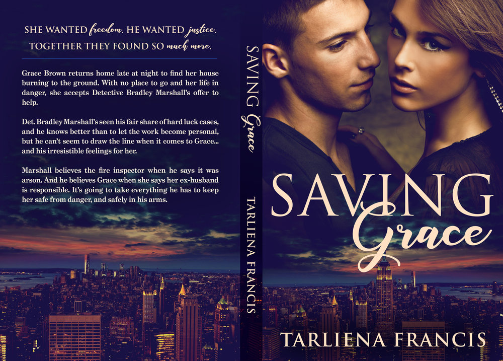 SAVING GRACE (Cover Spread)