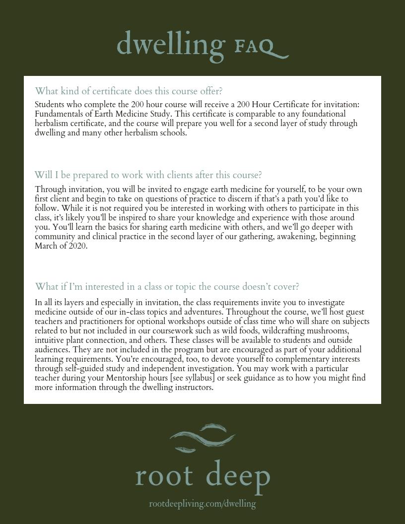 Dwelling FAQ 2